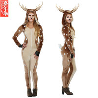 New Bayi New Cosplay Party Costume Adult Children Halloween Classic Deer Costumes Prom Clothing
