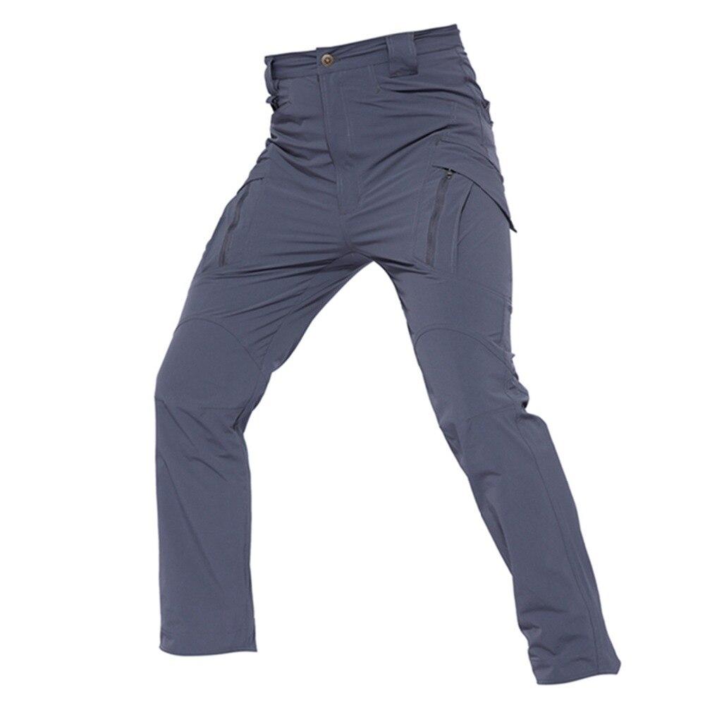 Shanghai Story IX9 Nylon YKK zipper pantalon Cargo tactique pour hommes pantalon militaire de Combat à séchage rapide pour homme pantalon élastique