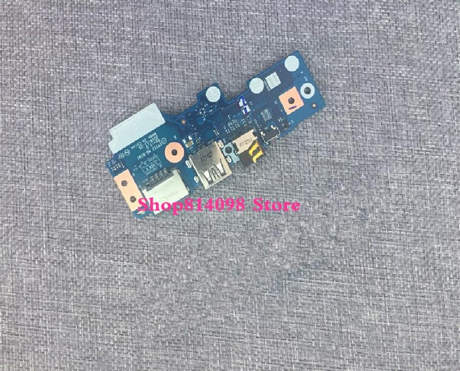 Original R720 R720 15IKBN USB audio LAN IO board DY512 NS B191 test good free shipping