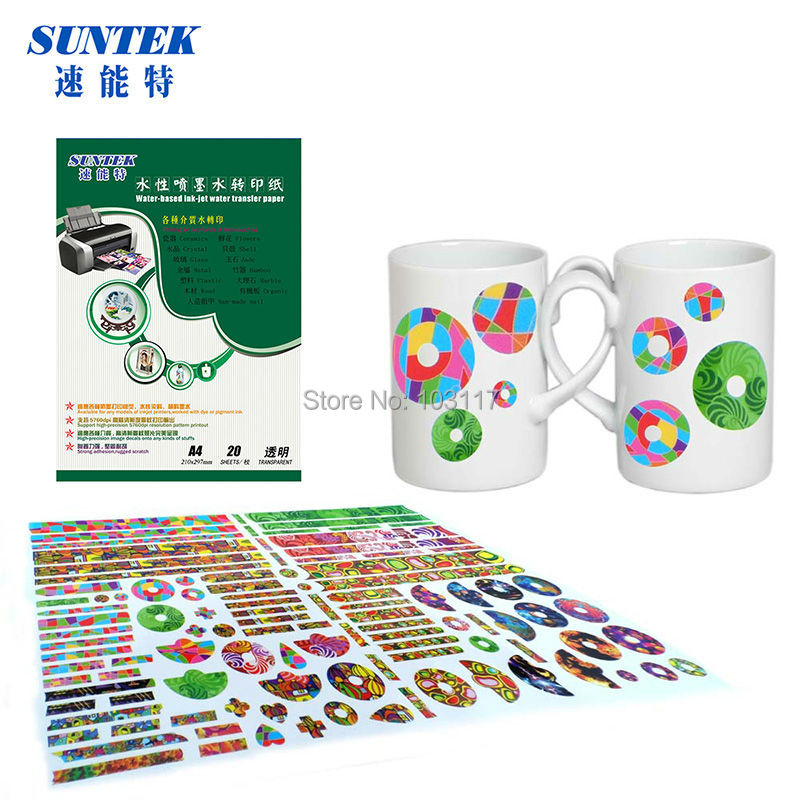 70pcs Pack Water Transfer Paper Spray Clear Lacquer Coat On The