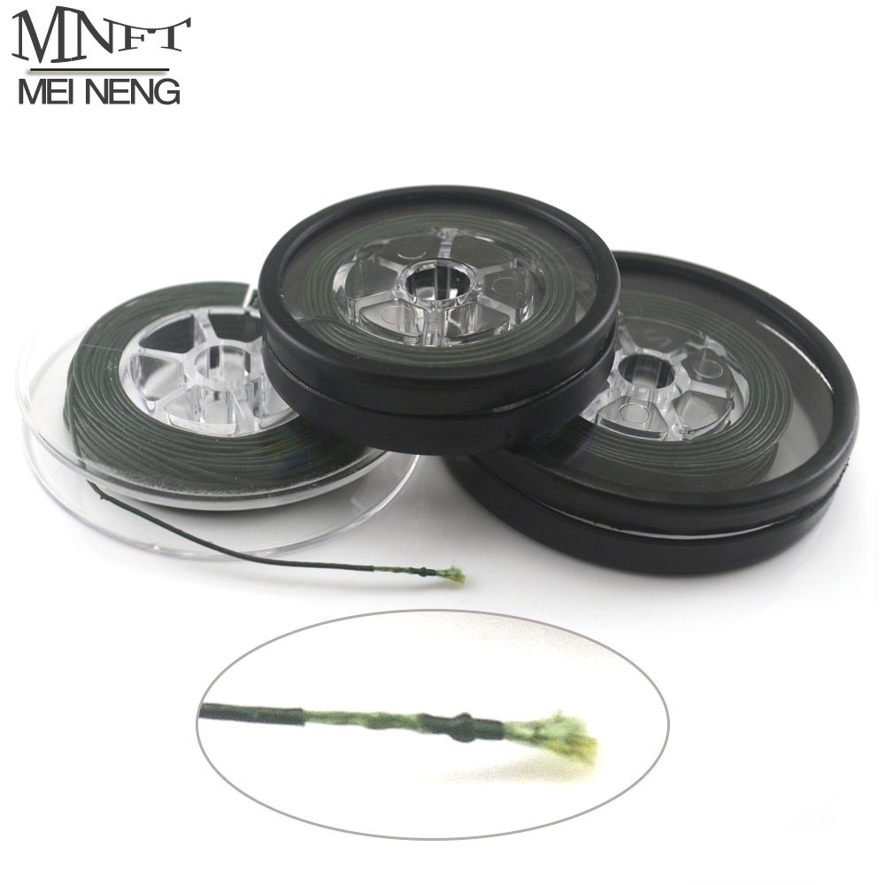 1 Spools Carp fishing line Coated Hook Link 25Lbs & 35Lbs Each Spool Coated Braid hair rig Quick Sinking Carp Lines 5M/10M