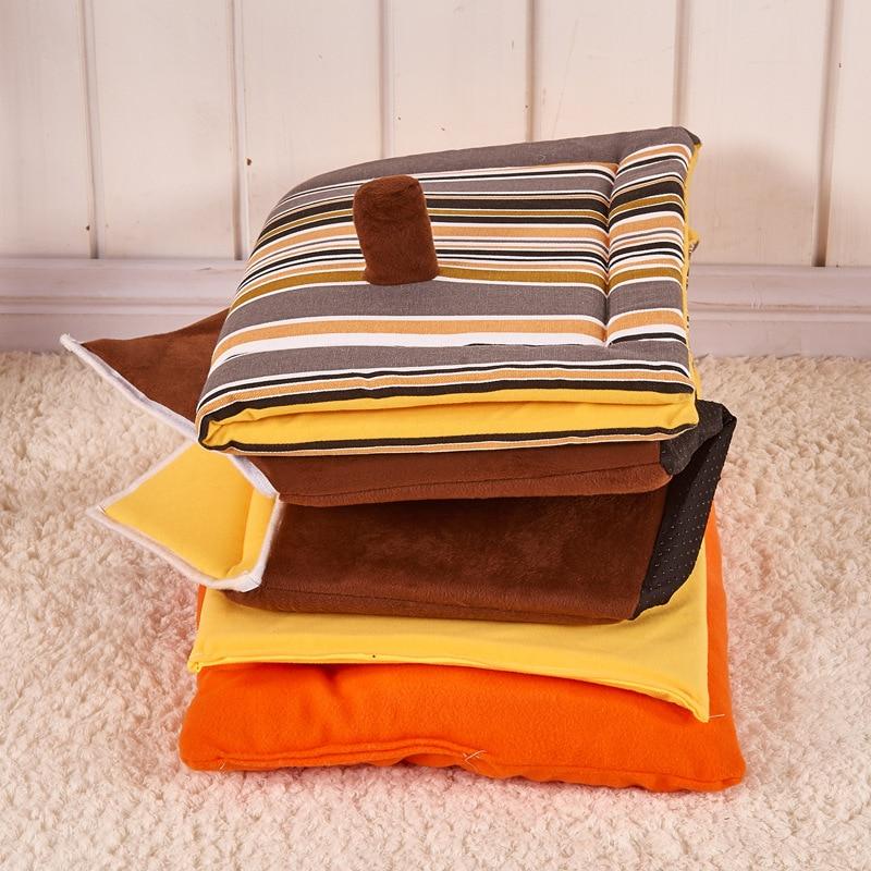 Forró új divat csíkos levehető borító mat kutya ház kutya - Pet termékek - Fénykép 5
