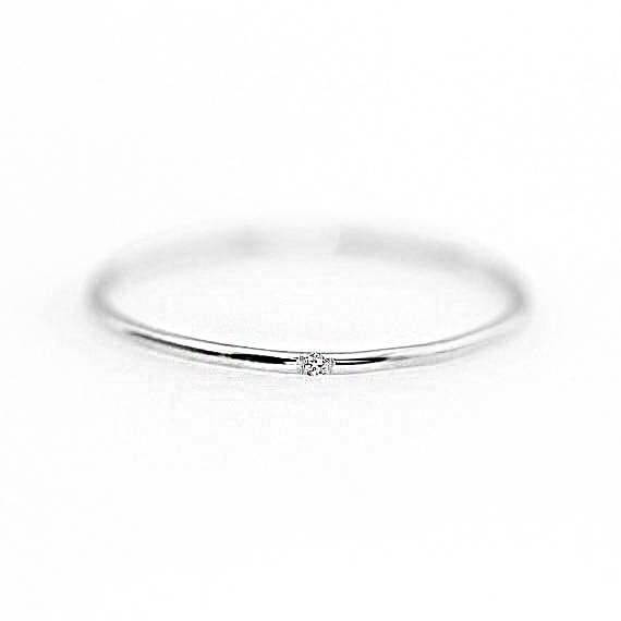 ZHOUYANG кольца для женщин с микро-вставками из кубического циркония тонкое кольцо на палец модное Ювелирное кольцо KCR101 - Цвет основного камня: Silver Color 101