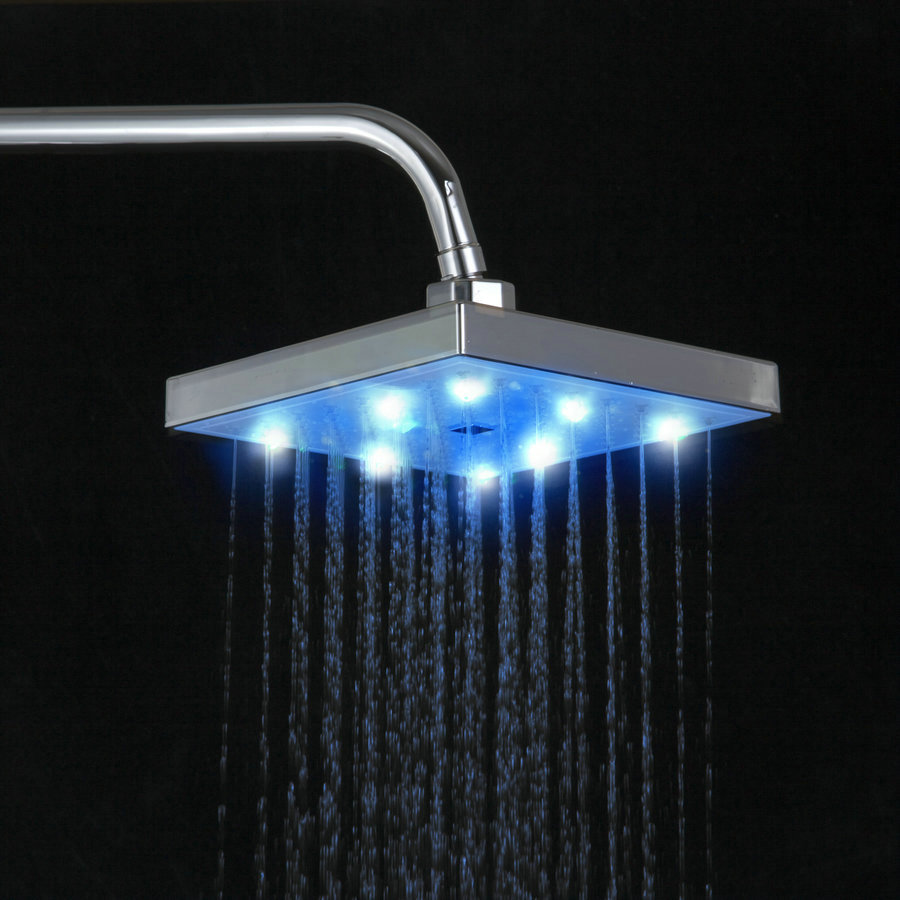 Best Led Rainfall Shower Heads Cabeca Chuveiro 8 Square Saving