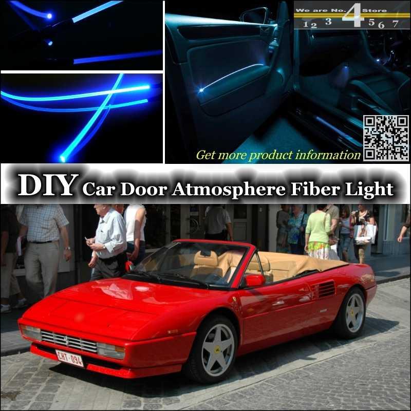 Interior Ambient Light Tuning Atmosphere Fiber Optic Band Lights For Ferrari Mondial Inside Door Panel Illumination Tuning Light Exit Light Flashlightlight Diffusor Aliexpress