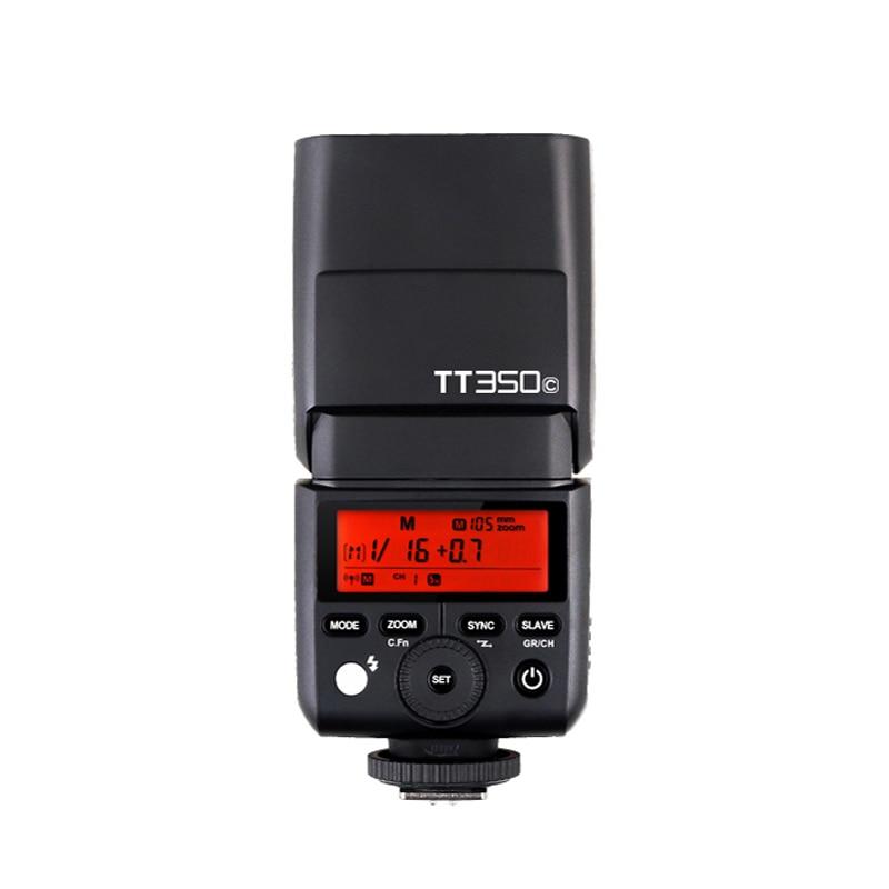 GODOX TT350 TTL Mini Flash Speedlite TT350C TT350N TT350S TT350o TT350F for Canon Nikon Sony Olympus Panasonic Fuji DSLR Cameras godox tt560 camera flash speedlite for canon 60d 550d 600d 700d 1000d 1100d nikon sony panasonic olympus fujifilm dslr cameras