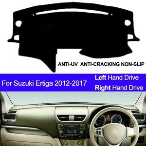 Image 1 - Car Dashboard Cover Dash Mat For Suzuki Ertiga 2012 2013 2014 2015 2016 2017 Dashmat Pad Carpet Dash Board Cover Auto Sun Shade