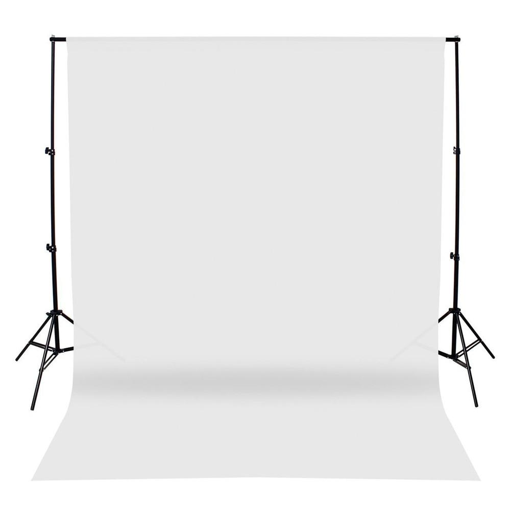 ALLOYSEED 1.8*2.7m Non-woven Fabric Professional Photography Background Studio White Screen Photo Video Chromakey Backdrop Props