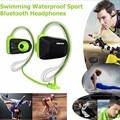 Hot Jabees bsport NFC bluetooth headset earphone fone de ouvido sport auriculares stereo Waterproof Swimming wireless headphone