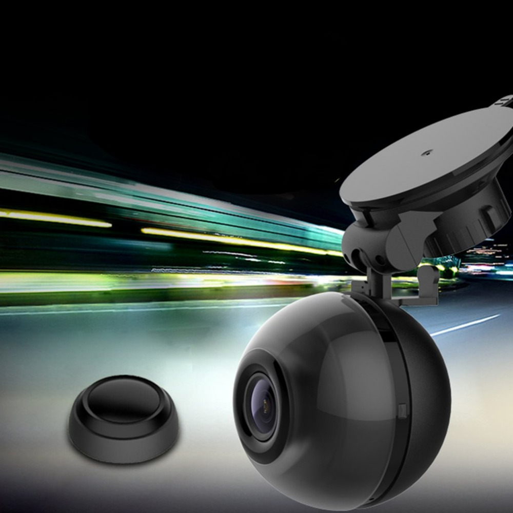 Special Ball Shape Full HD 1080P WIFI Car DVR with Remote Control Button Explosion-prevented Design Automobile Data Recorder 1080p hd special design ip camera 304 stainless steel explosion