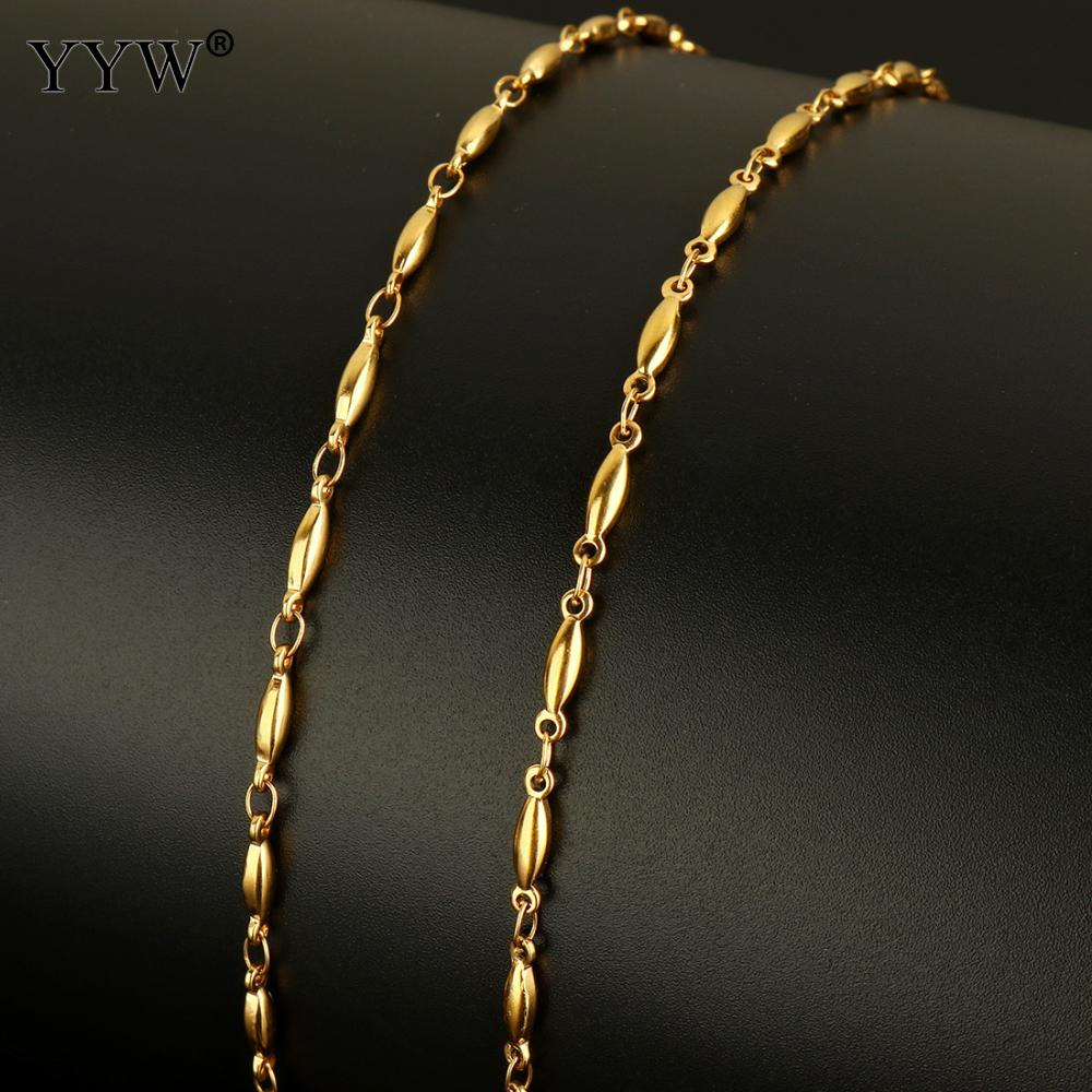 10m/Spool Stainless Steel Chain Silver Golden Color Plated Chain Roll Jewelry Making Necklace Bracelet Reel Bobbin