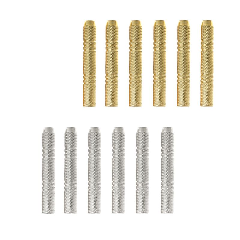 OOTDTY 6pcs Dart Barrel For Nylon/Steel Darts Tip Dart Accessories 47mm 12g 2BA Thread