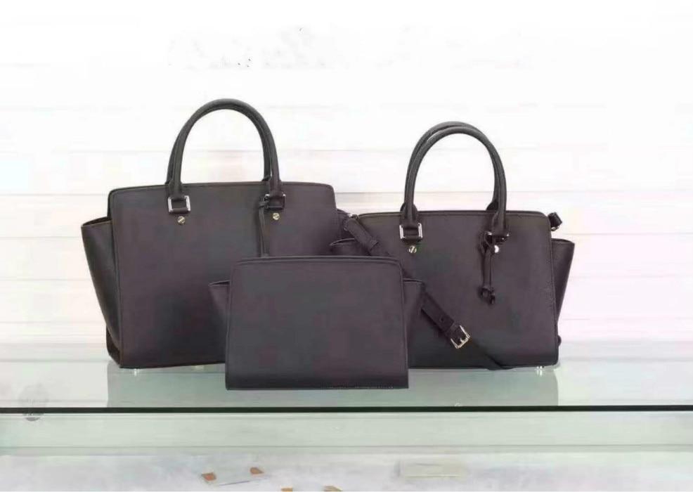 Bagaj ve Çantalar'ten Üstten Saplı Çanta'de Lüks ünlü markalar 2019 kadın hakiki deri çantalar kadın postacı çantası tasarımcı rahat bayanlar tote crossbody marka çanta'da  Grup 1