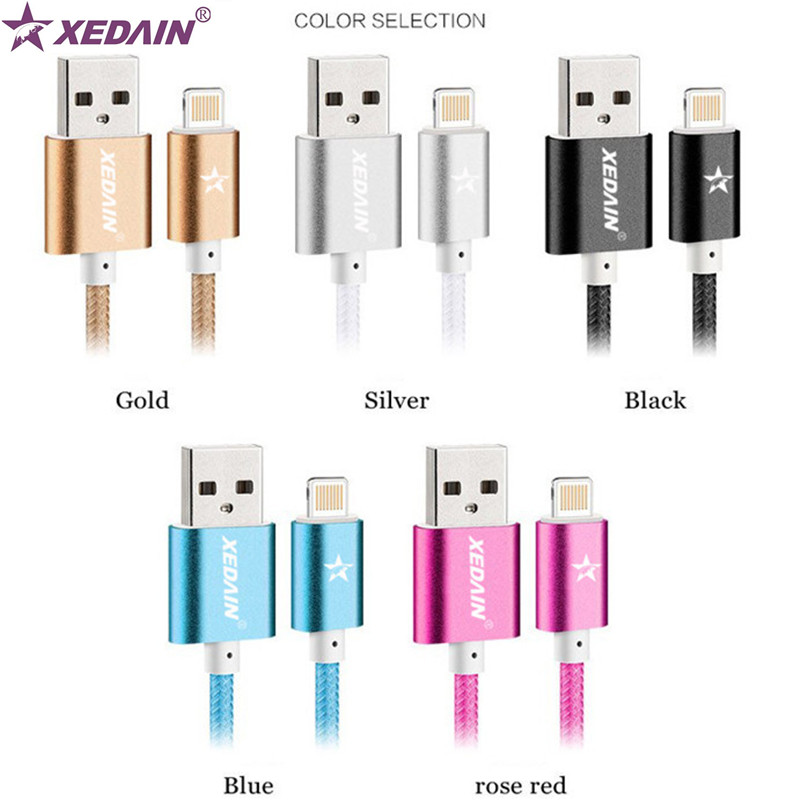 XEDAIN Lighting Cable Fast Charger Adapter Original USB Cable For iphone 6 s plus i6 i5 iphone 5 5s ipad air2 Mobile Phone Cable