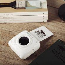 Paperang P1 небольшой Размеры Беспроводной Bluetooth 4,0 мобильный телефон мгновенное фото принтер цифровая печать изображений 1000 мА/ч, Батарея