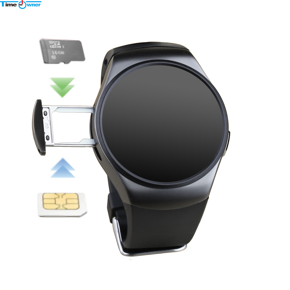 Time Owner KW18+ Clock Smart Watch Android Health Tracker MTK2502c Bluetooth Notification Support SIM TF Card for Samsung Xiaomi|support sim|watch androidsmart watch android - AliExpress