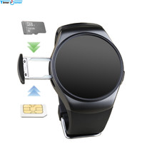 Time Owner KW18+ Clock Smart Watch Android Health Tracker MTK2502c Bluetooth Notification Support SIM TF Card for Samsung Xiaomi(China)