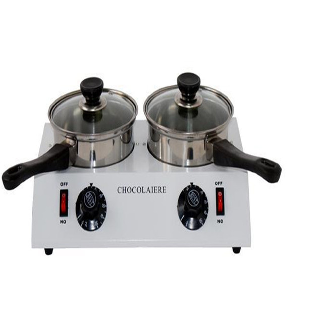 DIY duplex melting furnace baking tools 2 pots chocolate melter double boiler  2  Lattice chocolate melting furnace