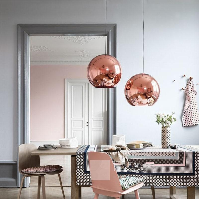 2017 nordic LED Pendant Lights metal lighting fixtures modern pendant lamp for home bar E27 socket 110V/220V Gold/Silver/Copper цена 2017