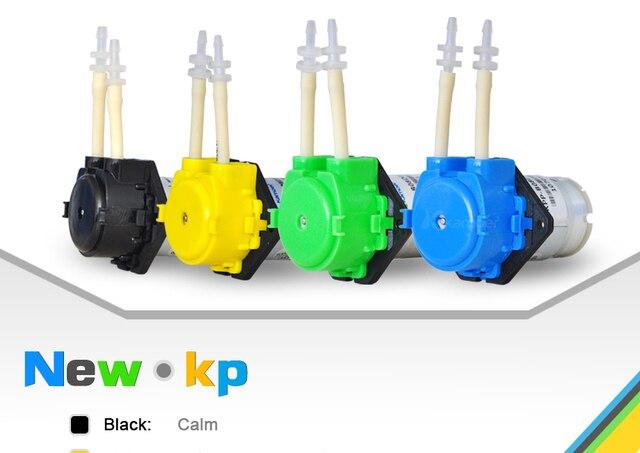 mini peristaltic pump 12V/6V/3V/24V DC motor Micro electric Water Pump samll dosing for Aquarium Lab kamoer NKP (L)