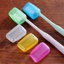 WEEDDIE 5 шт. пластиковые насадки для зубных щеток защитные колпачки Герметичные Чехлы для зубных щеток коробка для хранения аксессуары для ванной комнаты