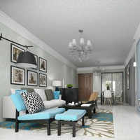 Ceiling Wallpaper Relief Thick Three Dimensional 3d Wallpaper European Non Woven Geometric Living Room Roof
