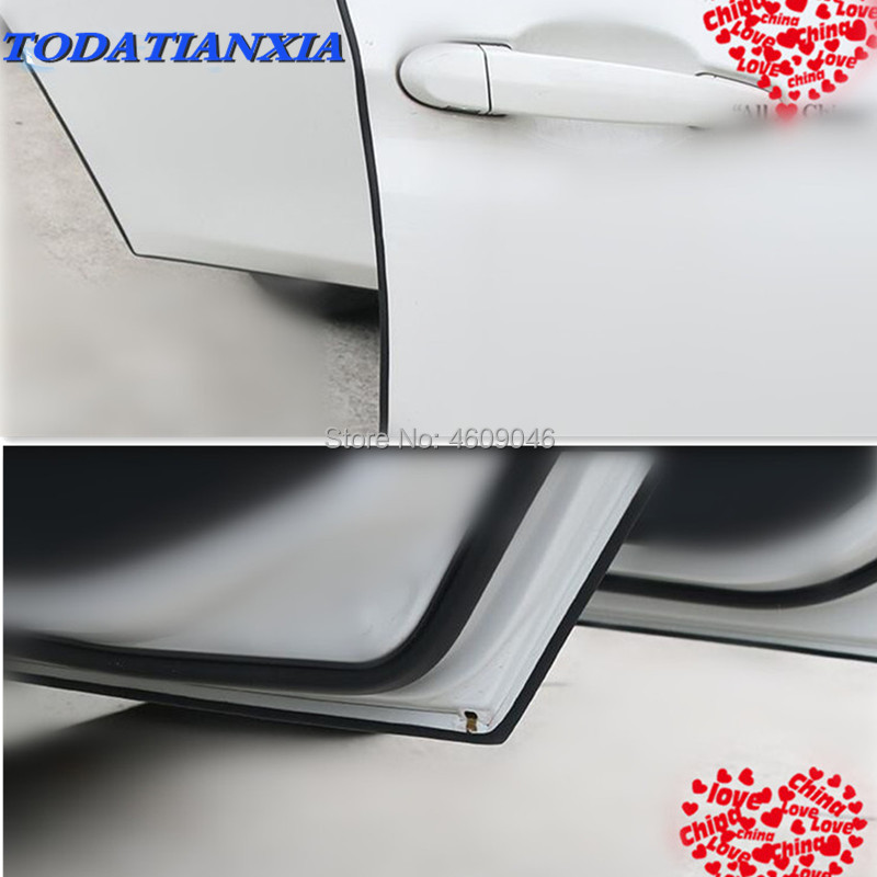 Car Styling Door Protection Strip accessories FOR citroen c4 picasso peugeot rifter dacia sandero renault megane 3 audi a3 8l image