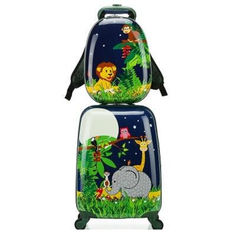 여행 수하물 세트 어린이를위한 스피너 가방 트롤리 수하물 소녀를위한 롤링 가방 소년을위한 바퀴 달린 가방 트롤리 가방-에서롤링 짐부터 수화물 & 가방 의  그룹 1