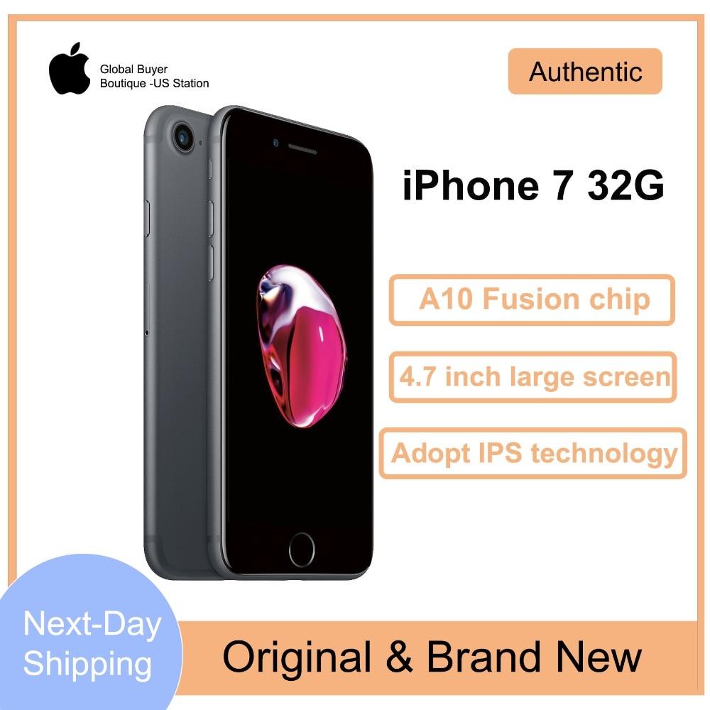 Абсолютно Новый Apple айфон 7 32G 4G LTE Facetime 12MP камера купить на AliExpress