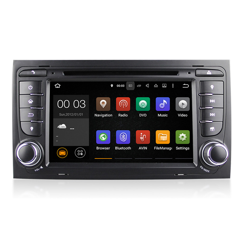 quad core android 5 1 car dvd player gps navi for audi a4. Black Bedroom Furniture Sets. Home Design Ideas