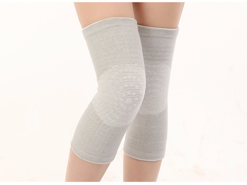 Winter Warm Knee Brace Tourmaline Self Heating Elastic Arthritis Knee Pads Carpal Tunnel Knee Support 1 Pair