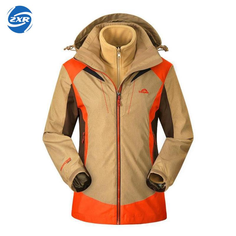 цена на Zuoxiangru Outdoor Waterproof Hooded Softshell Jacket Women Winter Thermal Tech Fleece Hiking Clothing Ski Fishing Climbing Coat