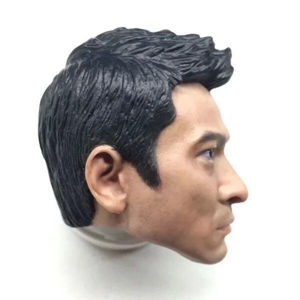 """1//6 Scale Andy Lau Head Sculpt Lau Tak Wah Headplay fit 12/"""" body figure"""