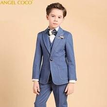 224e37e5a Ágil para el muchacho Jogging Garcon chicos trajes para bodas traje Enfant  Garcon Mariage chaqueta niños