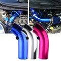 3 ''polegadas 76mm kit de Tubos de Alumínio Tubo De Admissão de Ar Do Carro Universal frio Secundária Sistema de Duto Tubo Kit Tubo De Admissão De Ar do filtro de Ar