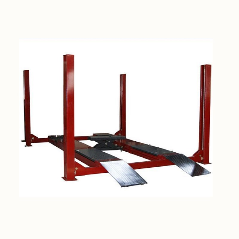 Ce Approved Professional Made Used 4 Post Car Lift Price For Sale