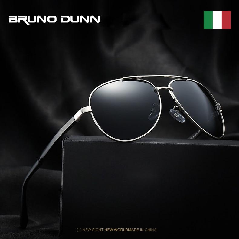 Bruno Dunn 2020 Aviation Men Sunglasses Polarized Sun Glases oculos de sol masculino aviador UV400 high quality  Sunglases 1