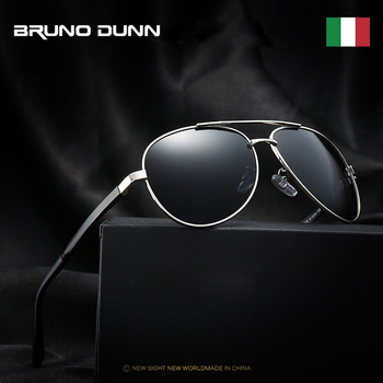 Bruno Dunn 2020 Aviation Men Sunglasses Polarized Sun Glases oculos de sol masculino aviador UV400 high quality  Sunglases 1