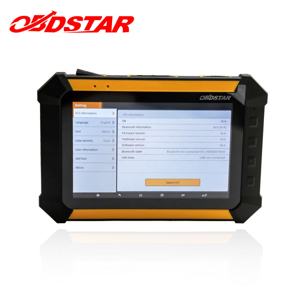 OBDSTAR X300 DP Pad Tablet X-300 Key Programmer Immo Odometer Programming Tool Mileage Correction EEPROM PIC OBD2 OBDII ...