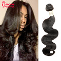 7A Indian Virgin Hair Body Wave Tangle Free Human Hair Weave Bundles ,Queen Love Beauty Hair products Indian Body Wave 3 Bundles