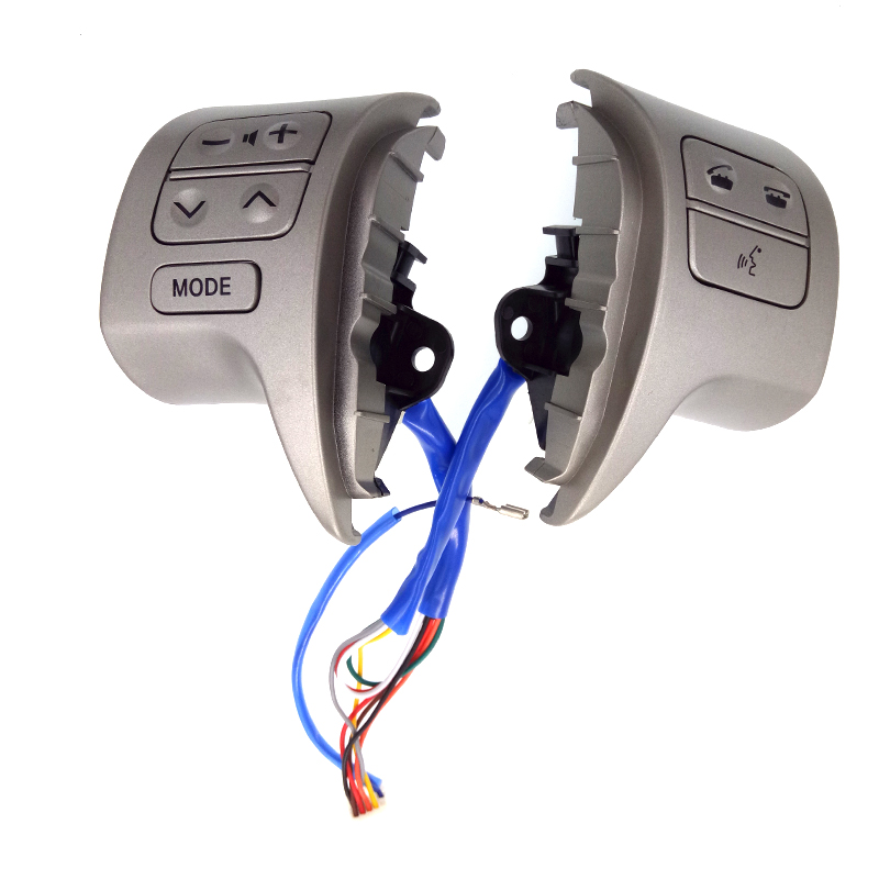 Bluetooth Steering Wheel Audio Control Switch 84250-02200 For Toyota Corolla ZRE15 2007 ~2016 top quality steering wheel control button switch for toyota corolla ade150 nde150 nre150 zze150 2007 2013 84250 02230 8425002230