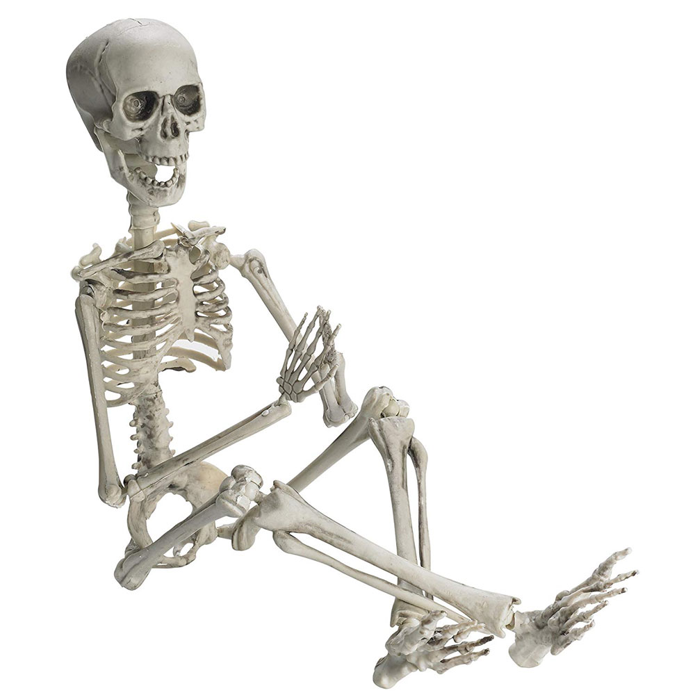 Halloween Skull Skeleton Decoration Handmade Full Body Human Bones