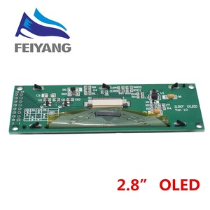 "Image 5 - Nieuwe Oled display 2.8 ""256*64 25664 Dots Grafische Lcd Module Display Screen Lcm Screen SSD1322 Controller Ondersteuning spi"