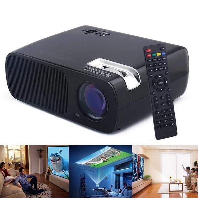 Mini LED Projetor de Vídeo BL-20 Projetores Full HD 1080 P 2600 Lumens Home Theater LCD Projetor Educação HDMI VGA AV USB Beamer