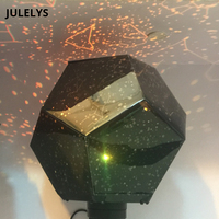 JULELYS LED Star Moon Projector Lamp Japanese Adult Science Night Light Home Decorations Bedroom Bedside Lamp Creative Gift