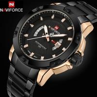 Watches Men NAVIFORCE Brand Full Steel Army Military Watches Men S Quartz Hour Clock Watch Sports