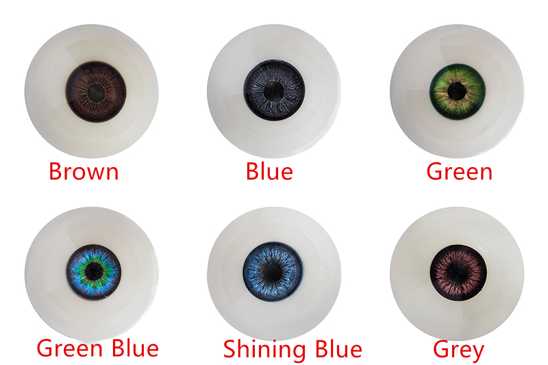 Eyes Color Options