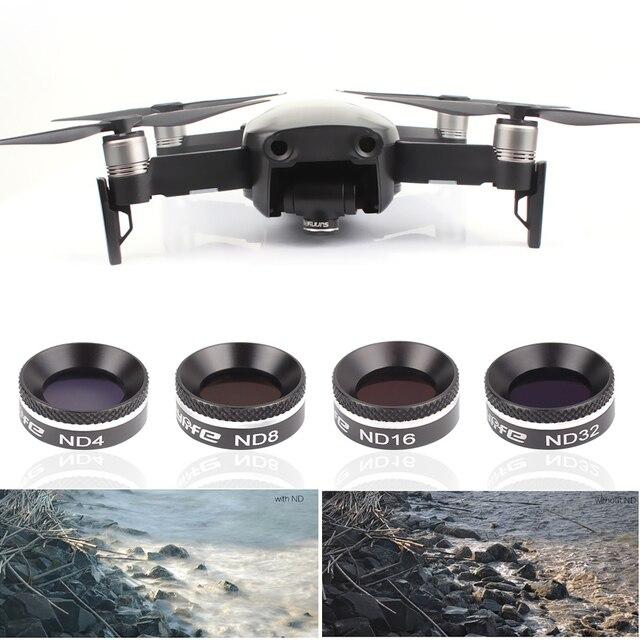 For MAVIC AIR Drone Filter MC UV CPL ND 4 8 16 32 Neutral Density Filters Kit For DJI Mavic Air Gimbal Camera Lens Accessories