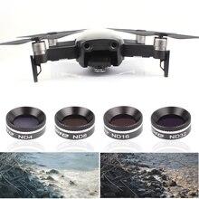 Воздушный фильтр для дрона MAVIC MC UV CPL ND 4 8 16 32 набор фильтров нейтральной плотности для DJI Mavic AIR Gimbal аксессуары для объектива камеры