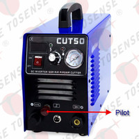 5 Meters P80 Straight Vertical Torch Plasma Cutter CUT50 Pilot Arc 50A 220V CNC Compatible With